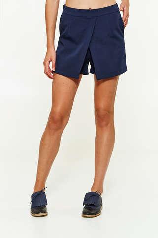 e01cba86450a Short femme bleu marine - Vetement fitness et mode