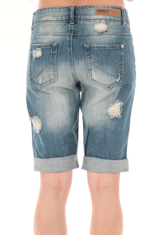 Short long femme jean