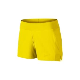 Short nike jaune fluo femme