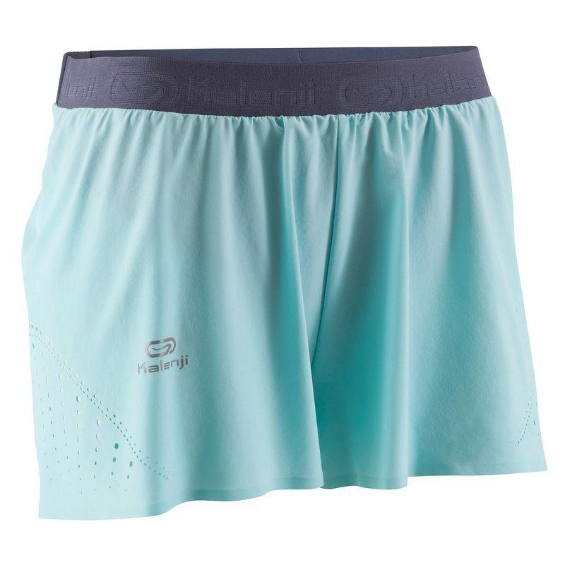 Short running femme bleu