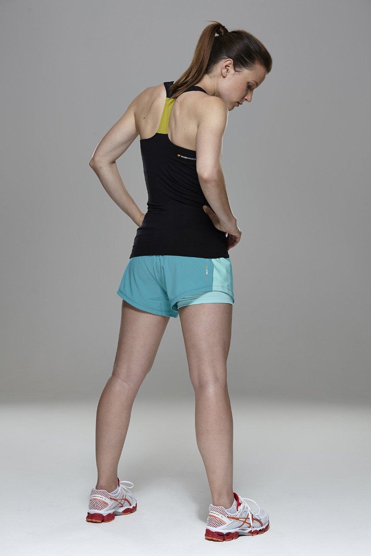 Tenue de sport femme short - Vetement fitness et mode 24a955b0415