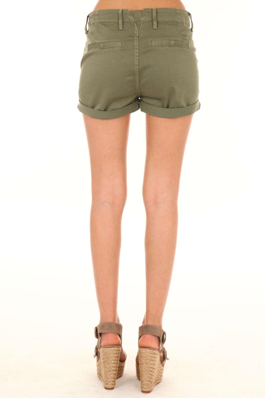 Short jean kaki femme - Vetement fitness et mode d92525cd5f63