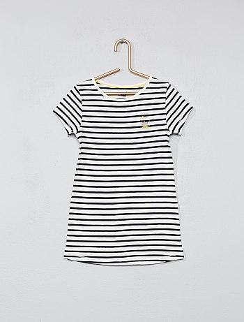 Chemise de nuit tee shirt long
