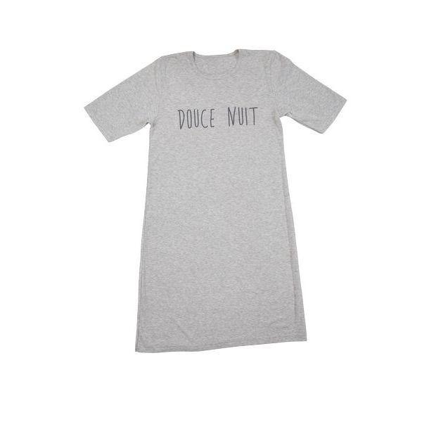 Tee shirt long nuit femme