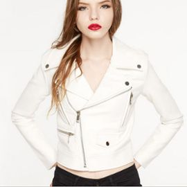 Veste blanche femme mode