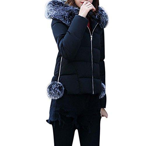Manteau parka capuche femme