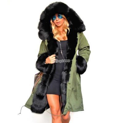 Fausse fourrure manteau et parka femme