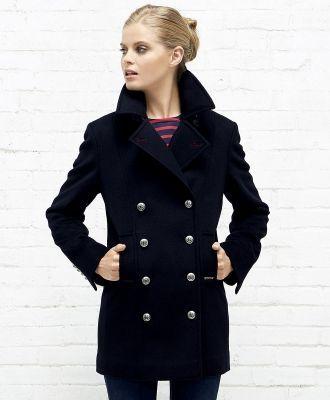 Manteau et parka femme caban marin