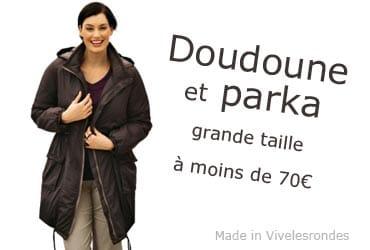 Parka été femme grande taille