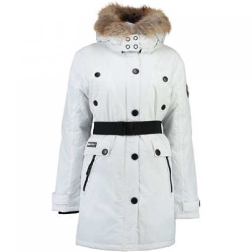 Parka blanche femme geographical norway