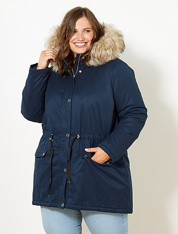 Manteau parka femme taille 48