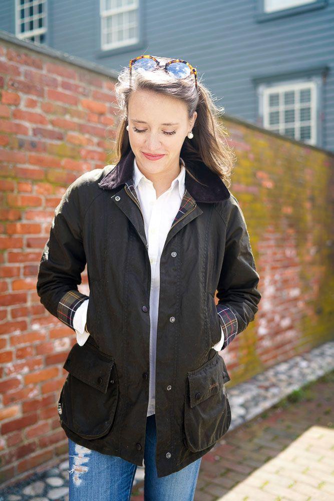 Parka femme blog mode