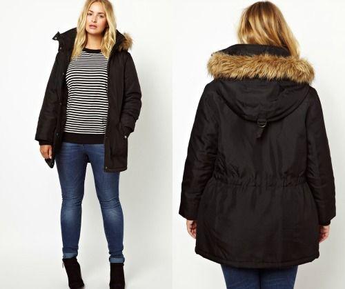 Manteau ou parka grande taille femme - Vetement fitness et mode 48e451044fa8