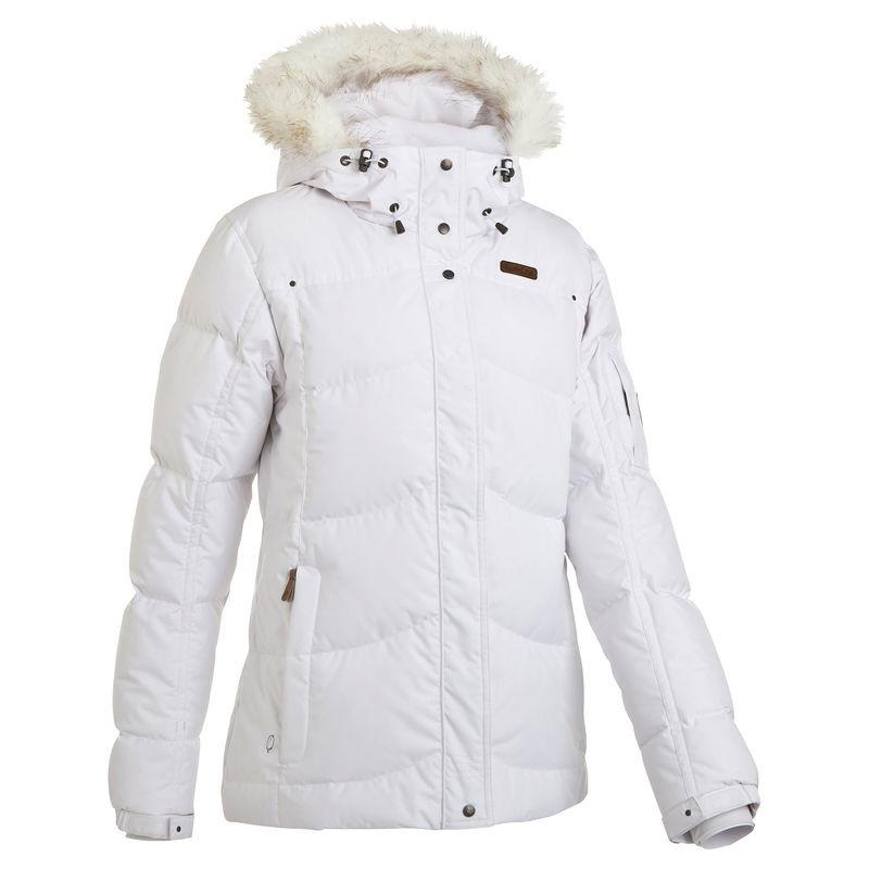 Parka ski femme blanc