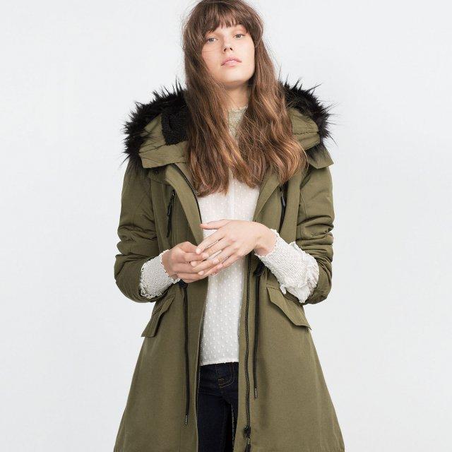 Parka femme automne hiver 2015